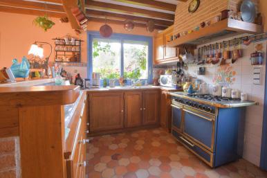 cuisine, chambre d'hôtes, normandie