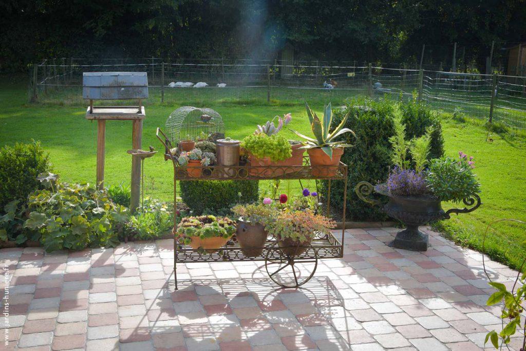 jardin, gîte, normandie