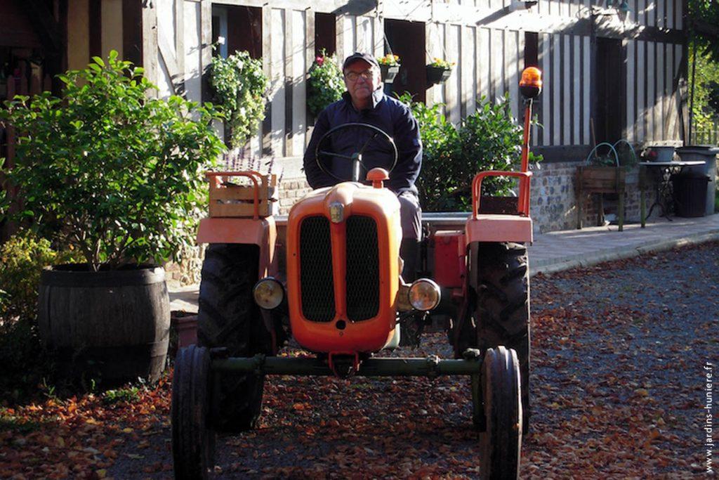 tracteur, lisieux, normandie